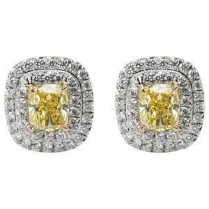 Tiffany & Co. Soleste Diamond Earrings in Platinum